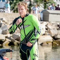 Sharpened Green Wetsuit - PWC Jet Ski Ride & Race