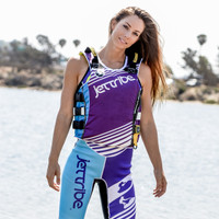 Ladies UR-20P Newport Vest - Purple PWC Jetski Ride & Race Gear