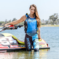 Ladies UR-20P Newport Vest - Teal PWC Jetski Ride & Race Gear