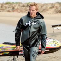 Sharpened Tour Coat - Grey PWC Jetski Ride & Race Gear