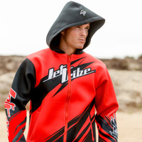 Sharpened Tour Coat - Red PWC Jetski Ride & Race Gear