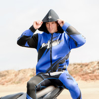 Sharpened Tour Coat - Blue PWC Jetski Ride & Race Gear