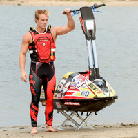 RS-18P Side Entry Impact Vest - Red PWC Jetski Race Jacket