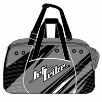Team Travel Sharpened Duffel Bag - Grey PWC Jetski Ride & Race Gear