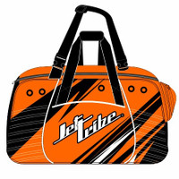 Team Travel Sharpened Duffel Bag - Neon Orange PWC Jetski Ride & Race Gear