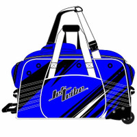 Day 10 Rolling Gear Bag Sharpened - Blue PWC Jetski Race Gear