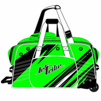Day 10 Rolling Gear Bag Sharpened - Green PWC Jetski Race Gear