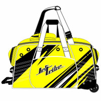 Day 10 Rolling Gear Bag Sharpened - Yellow PWC Jetski Race Gear