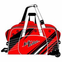 Day 10 Rolling Gear Bag Sharpened - Red PWC Jetski Race Gear