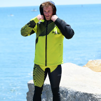 Hyper Tour Coat Green - PWC Jet Ski Ride & Race Gear