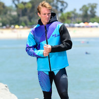 Hyper Tour Coat Purple / Teal - PWC Jet Ski Ride & Race Gear