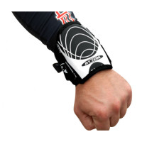 Wrist Guard (1 Piece) - White / Black PWC Jetski Ride & Race Gear