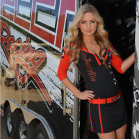 Trophy Girl Dress Red/Black PWC Jetski Ride & Race Apparel