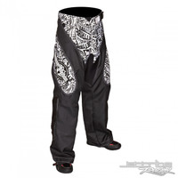Moto Pants Vertigo Black / White PWC Jetski Ride & Race Gear