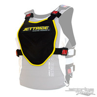 Stealth 71 Chest Deflector Black/Yellow PWC Jetski Ride & Race Gear