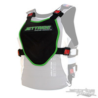 Stealth 71 Chest Deflector Black/Green PWC Jetski Ride & Race Gear
