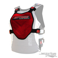 Stealth 71 Chest Deflector Red/Black PWC Jetski Ride & Race Gear