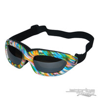 CLASSIC GOGGLES WATERCOLOR FRAME/ SMOKE LENS
