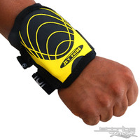 Wrist Guard (1 Piece) - Yellow / Black PWC Jetski Ride & Race Gear