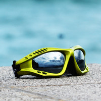Expert Goggles Lime Metallic Frame with Case PWC Jet Ski