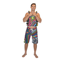Shockwave Board Shorts Multi PWC Jetski Ride & Race Apparel