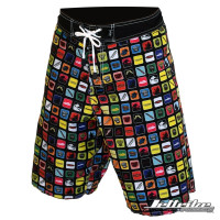 Men's Marvel Board Shorts (Front)