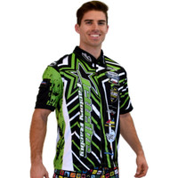 Men's Pit Shirt Shockwave - Green PWC Jetski Ride & Race Jet Ski Apparel