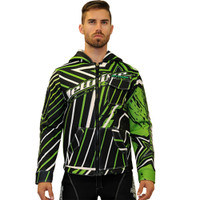 Tour Coat Shockwave Moto Jacket Green PWC Jetski Ride & Race