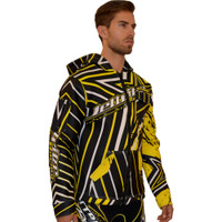 Tour Coat Shockwave Moto Jacket Blk/Yellow PWC Jetski Ride & Race