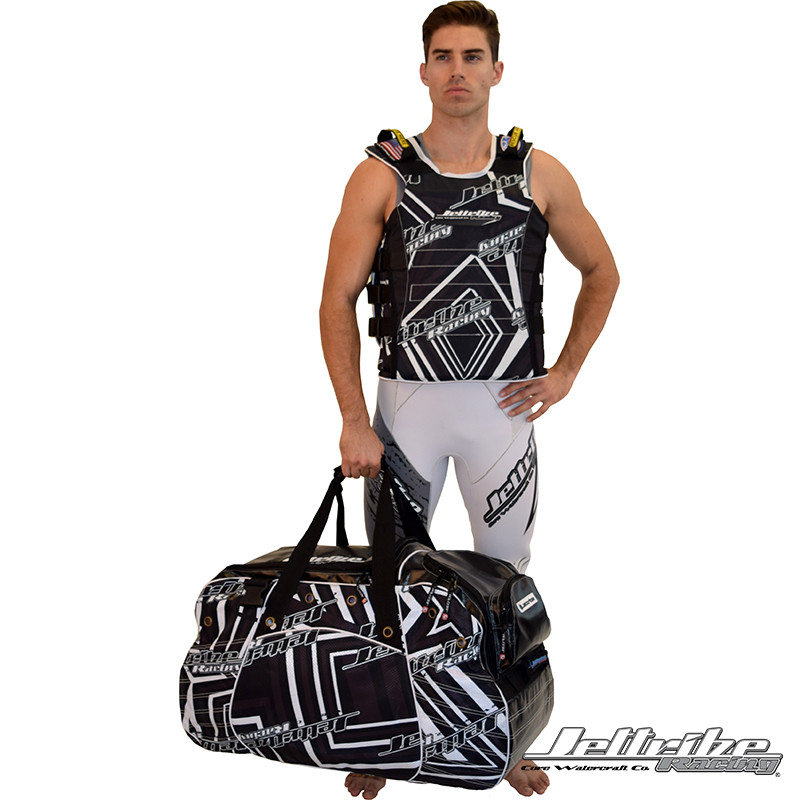 Vest and duffel bag NOT included
