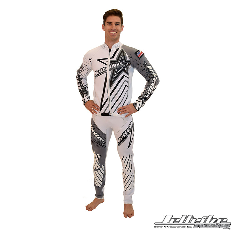 Shockwave Wetsuit (Front) - John and Jacket