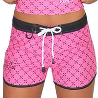 Hash Ladies Board Shorts Pink PWC Jetski Ride & Race Apparel
