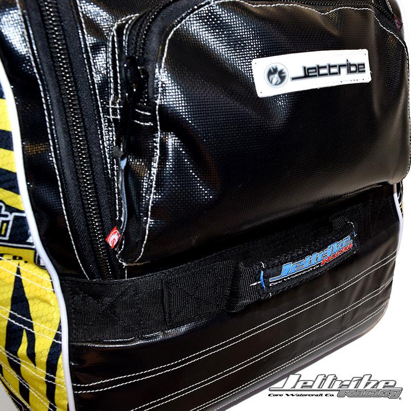 Zipper Pocket- Travel Duffle Bag (Yellow)