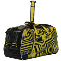 Team Travel Shockwave Duffel Bag Yellow PWC Jetski Ride & Race-New Lower Price