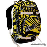 Shockwave Travel Backpack Yellow PWC Jetski Ride & Race Gear