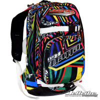 Shockwave Travel Backpack Multi PWC Jetski Ride & Race Gear