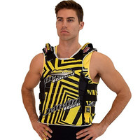 UR-20 Side Entry Vest Yellow PWC Jetski Ride & Race Jacket