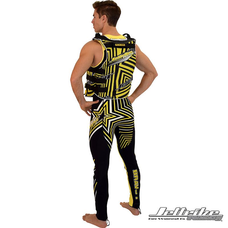 UR-20 Vest - Back, featuring the Shockwave Wetsuit