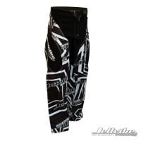 Ride Pants Shockwave Moto Black/White PWC Jetski Ride & Race Gear