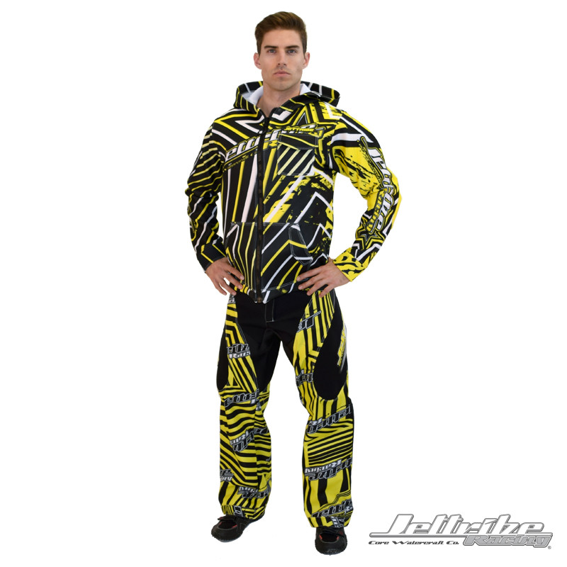 """Front- Moto Pants """"Shockwave"""" (Other Items Not Included)"""
