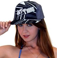 Shock Hat Black/White PWC Jetski Ride & Race Jet Ski Accessories