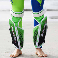 Reactive Leg Guards (Set) Shockwave Green PWC Jetski Ride & Race-New Lower Price