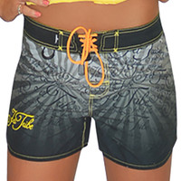 Poe Ladies Board Shorts PWC Jetski Ride & Race Jet Ski Apparel