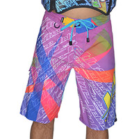 Fresh Men's Board Shorts PWC Jetski Ride & Race Jet Ski Apparel
