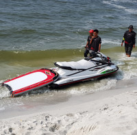 Rescue Board Safety Tow-In Sled PWC Jetski Ride & Race Gear