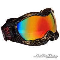 Helmet Carbon Fiber Frame Goggles/Revo Lens including Case PWC Jetski Race