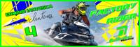 Erminio Iantosca 3'x9' Banner PWC Jetski Ride & Race Jet Ski Display