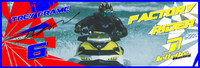 Trey Frame 3'x9' Banner PWC Jetski Ride & Race Jet Ski Display