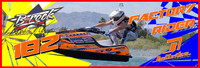 Brock Austin Banner 3'x9' PWC Jetski Ride & Race Jet Ski Display