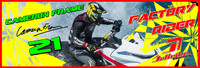 Cameron Frame Banner 3'x9' PWC Jetski Ride & Race Jet Ski Display